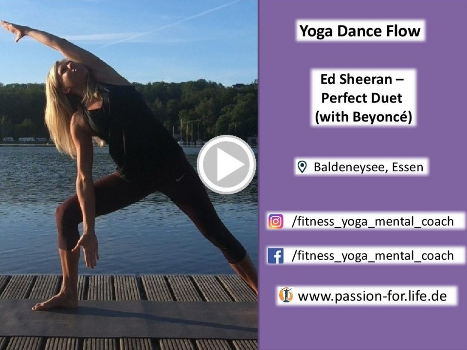Video Link zur Ed Sheeran Yoga Dance Flow Choreo