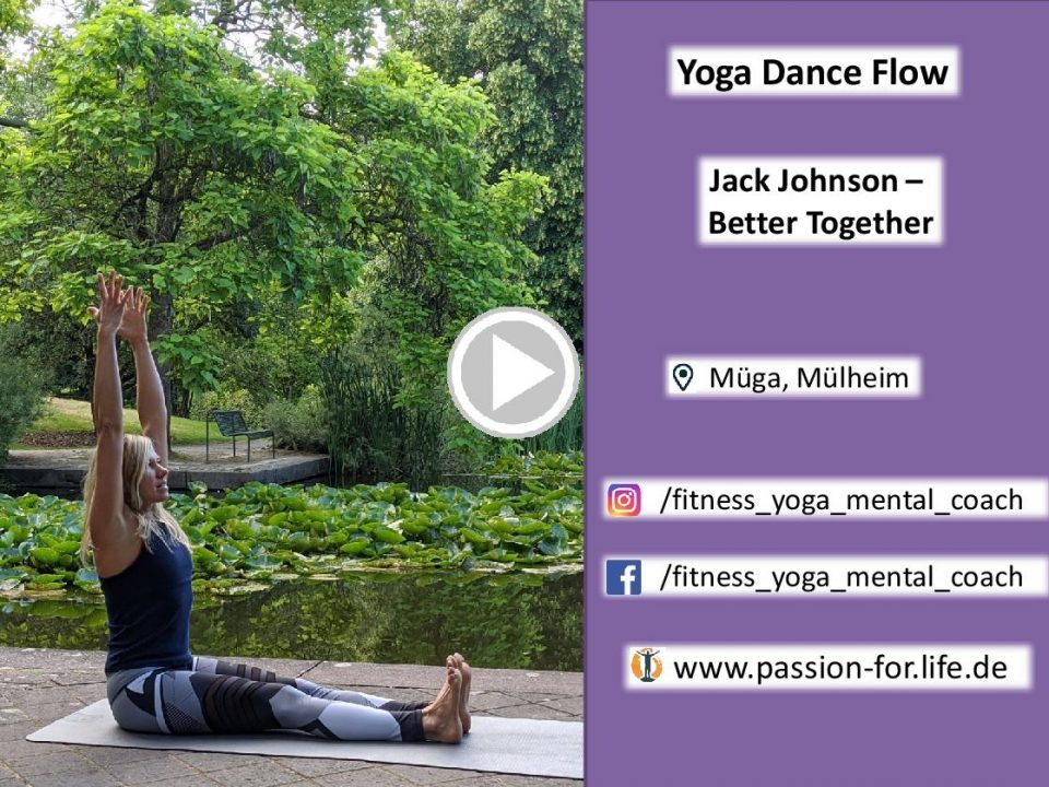 Link zur Yoga Dance Choreo von Jack Johnson - Better together