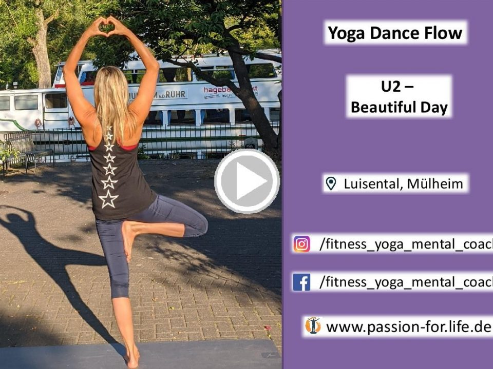 Link zur Yoga Dance Choreo von U2 Beautiful Day