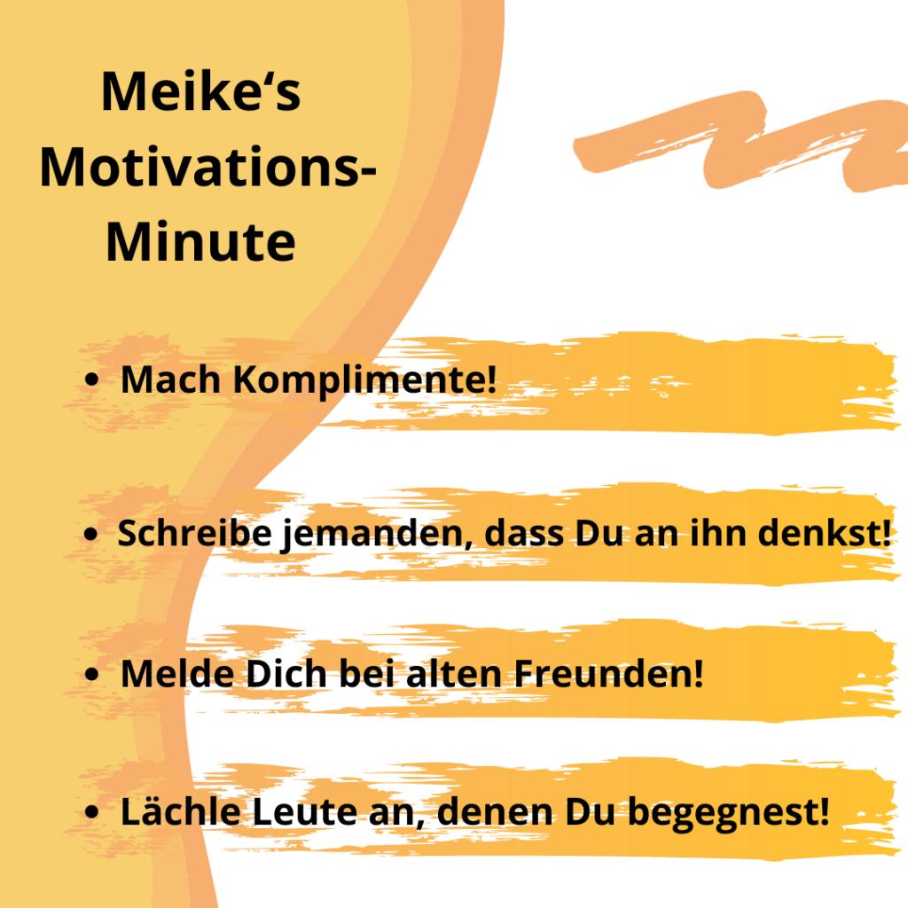 Motivationsspruch Komplimente machen